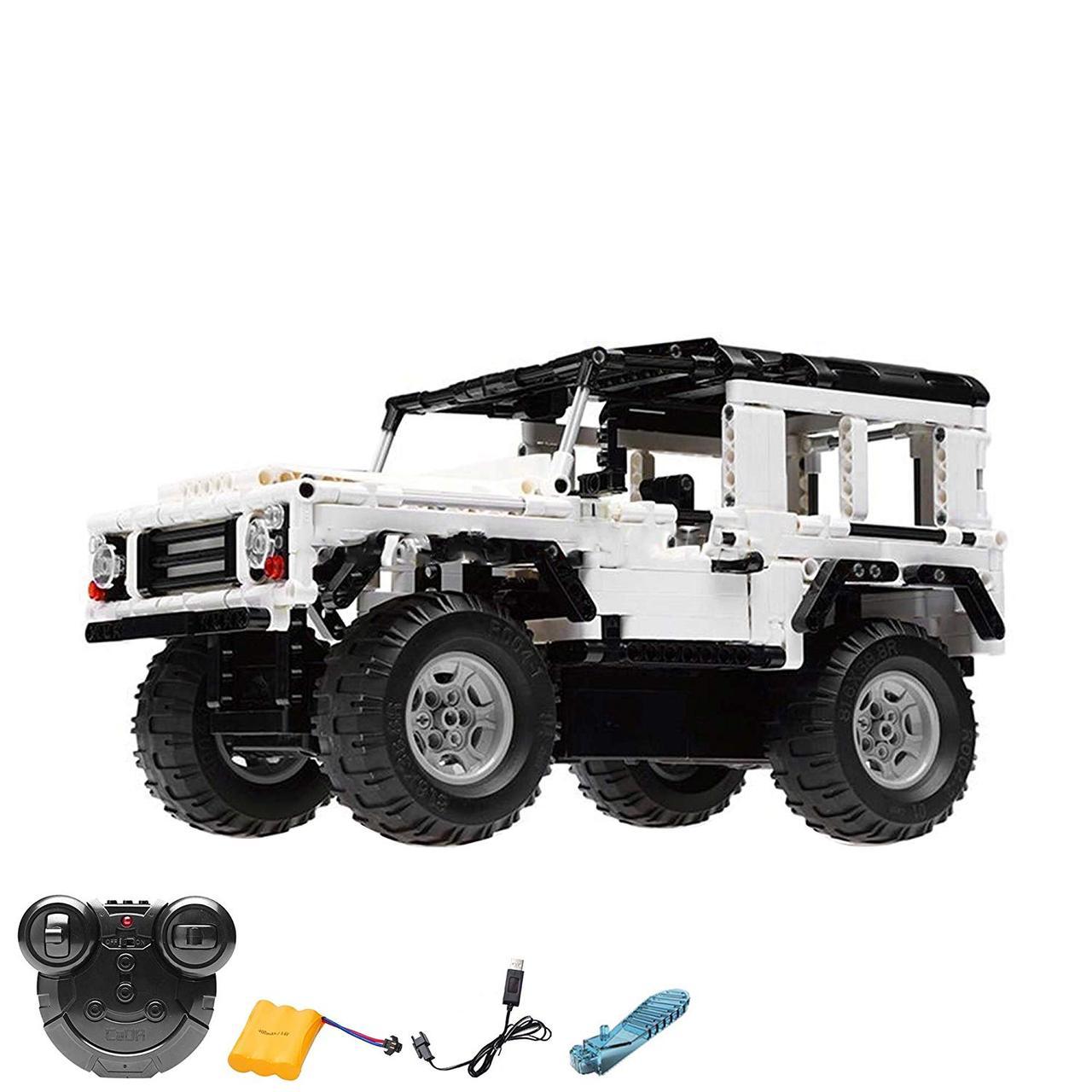 Машина джип з дистанційним керуванням RCG Steckbausatz Konstruktion DIY ferngesteuerter Jeep Truck