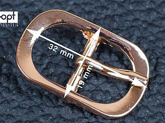 Пряжка для обуви, ремня, сумки арт. 65-124, золото