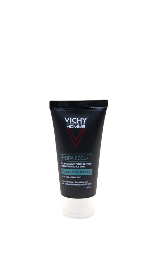 Vichy Homme Hydra Cool - Зволожуючий Гель Охолоджуючий для обличчя та контуру очей