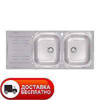 Кухонная двойная мойка Apell Oceano OH1162ILBC LEFT Matt 116*50