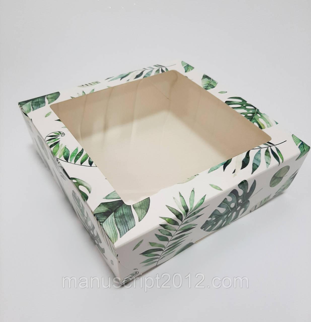 Коробка  белая 200х200х65 мм.