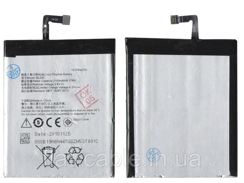 Батарея (акумулятор) BL245 для Lenovo S60 2150mAh оригінал Китай