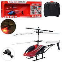 Вертолет игрушечный F-360  на радиоуправлении, Sky Helicopter