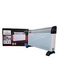 Обогреватель, конвектор электрический Crownberg, мощностью от 750w до 2000w. Настенная или напольная установка