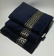 Турецкое полотенце 60*105 см. Версаче .Хлопок