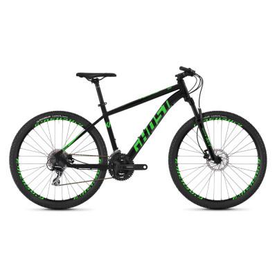 """Горный велосипед GHOST Kato 2.7 27,5"""" AL U черно-зеленый, XS, 2019 (ST)"""