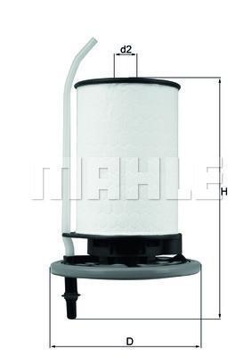Фильтр топливный Mahle FIAT DOBLO 1.3 1.6 D Украина Харьков