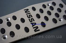 Nissan Teana 2008-13 накладки на педали алюминиевые автомат