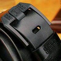 Кожаный мужской ремень Bоlo Bekele(Black)
