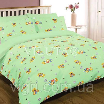Одеяло шерстяное стеганное детское 100 х 140 ВИЛЮТА «VILUTA» ОД 6112з, фото 2