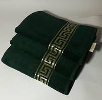Махровые полотенца 60*105 см. Версаче Турция.