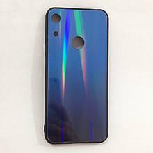 Чехол Huawei Honor 8A Holografic Blue/Blue