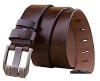 Кожаный мужской ремень Bоlo Bekele(Brown)