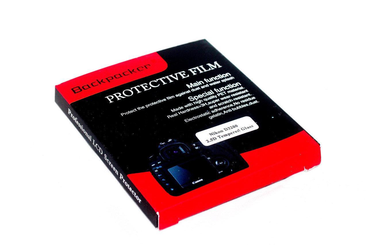 Защитное стекло Backpacker для LCD экрана фотоаппаратов Canon PowerShot X170, SX400, SX410, SX43 ( на складе )