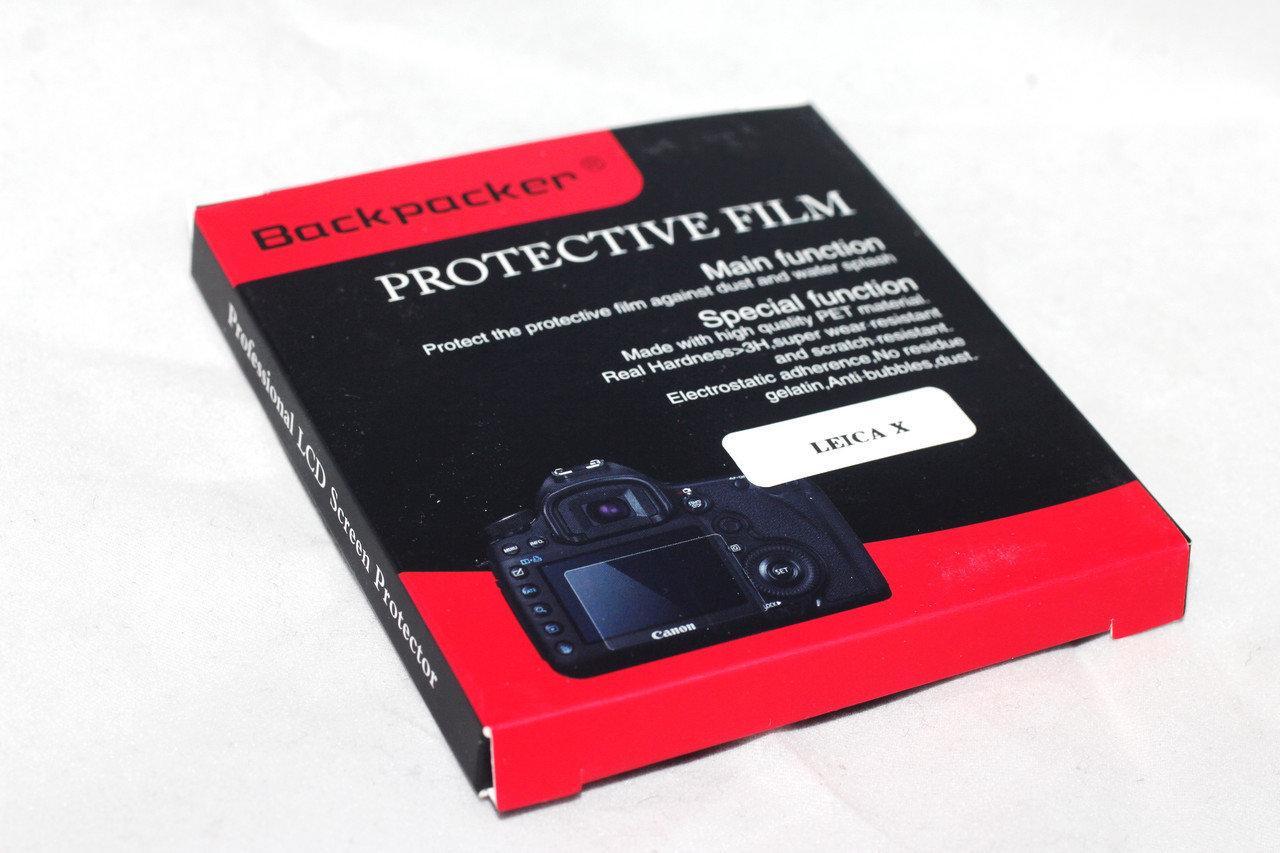 Защитное стекло Backpacker для LCD экрана фотоаппаратов Canon EOS 500D, 450D, G10 ( на складе )