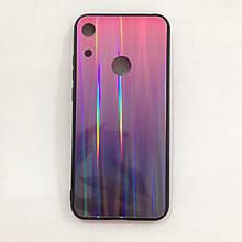 Чехол Huawei Honor 8A Holografic Pink/Blue