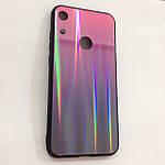 Чехол Huawei Honor 8A Holografic Pink/Blue, фото 2