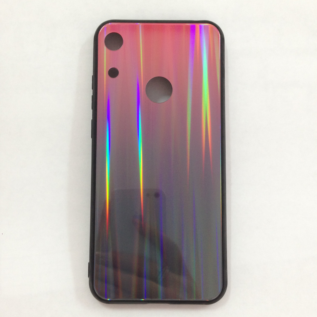 Чехол Huawei Honor 8A Holografic Pink/Black