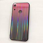 Чехол Huawei Honor 8A Holografic Pink/Black, фото 2