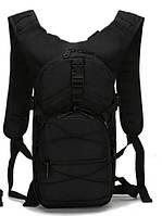 Рюкзак тактический велосипедный TacticBag B10 черный, 15 л