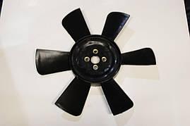 Крыльчатка радиатора ГАЗ 3302 (6 лопасти) (черная) Украина