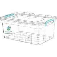 Контейнер Storage Box Maxi 10л №4 c крышкой 24*36*15 см