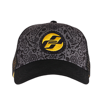 Кепка Ghost Trucker blk/ti-gry/ylw (ST)