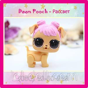 Кукла LOL Surprise 4 Серия Питомец Dawn Pooch - Рассвет Лол Сюрприз Без Шара Оригинал