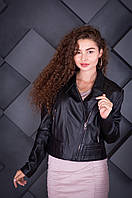 Куртка кожаная Косуха Oscar Fur 393 Черный, фото 1