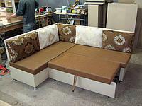 Новинка!Кухонный уголок с подушками на липучках, фото 1