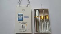 Подарочный набор парфюмерии Versace Man Eau Fraiche с феромонами