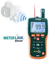 Термо-гигрометр + влагомер контактный/бесконтактный + ИК-термометр Extech MO297