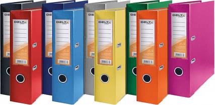 Папки сегрегаторы скоросшиватели с прижимом и файлами