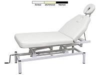 Массажный стол, массажная кушетка модель 257 2-х секционный с регулируемой высотой