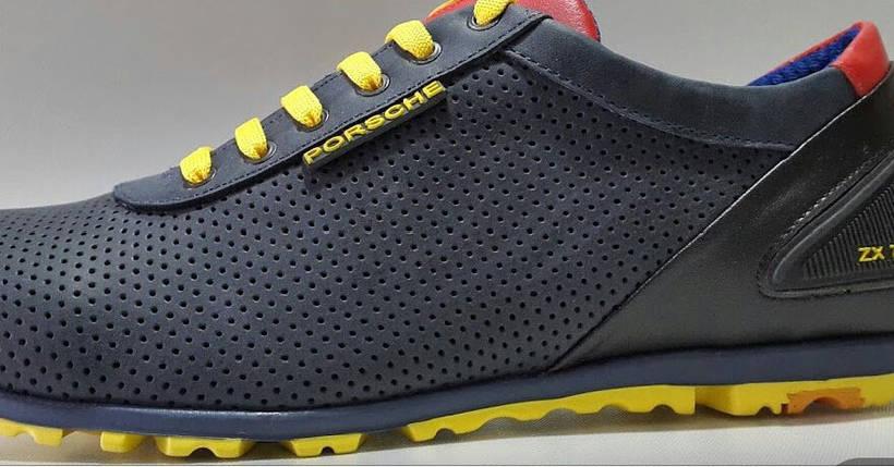 Мужские кроссовки Adidas Porsche Design.Кожа,перфорация, фото 2