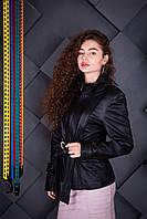Куртка кожаная Oscar Fur 312 Черный, фото 1
