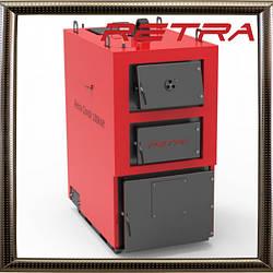 Твердотопливный котел отопления РЕТРА-4М COMBI с ручной загрузкой 40 КВТ