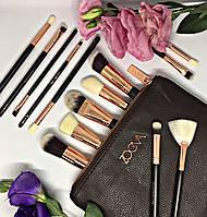 Набор кистей для макияжа Zoeva Chocolate 15 штук (Luxury)