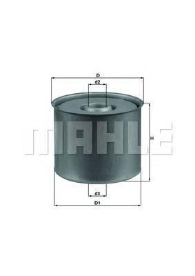Фильтр топливный Mahle AUDI 80 1.6D GOLF II/JETTA/PASSAT/T2 1.6D/TD Украина Харьков