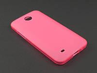 Чехол TPU для HTC Desire 300 розовый
