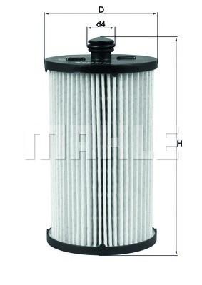 Фильтр топливный Mahle  VW CRAFTER 30-35 06- (2.5 TDI)