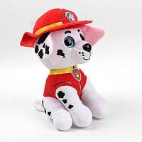 Мягкая игрушка Щенячий Патруль 16 см - Маршал - супер подарок для мальчика