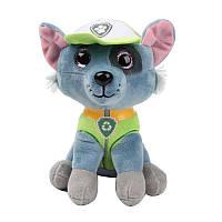 Мягкая игрушка Щенячий Патруль 16 см - Рокки - супер подарок для мальчика