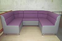 П-образный диван для кафе, бара, клуба на заказ