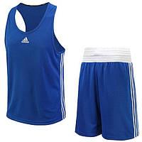 Боксерская форма Adidas Base Punch Boxing синяя