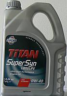 Моторное масло TITAN SUPERSYN LONGLIFE  0W-40 4л