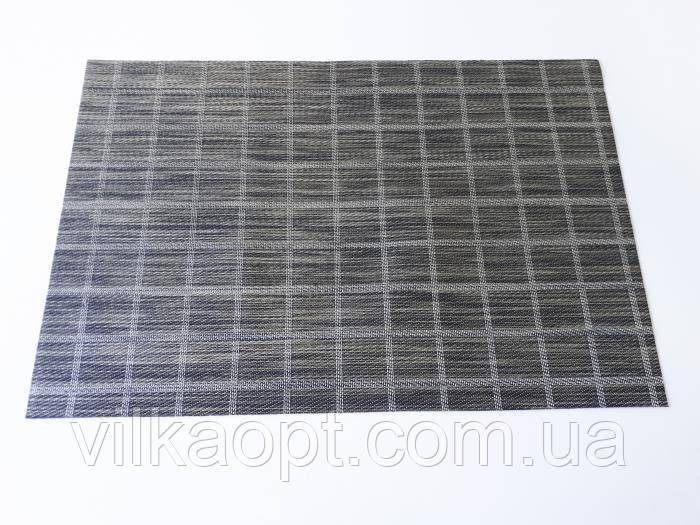 Салфетка под тарелки сервировочная клетка 30*45 cm.