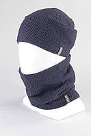 Набор шапка бафф мужской + Buff джинс