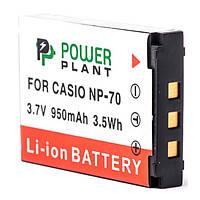 Акумулятор PowerPlant Casio NP-70 950mAh
