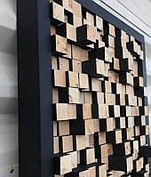 Объемное панно деревянное на стену